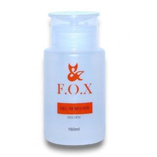 Жидкость для снятия гель-лака FOX, 160 мл