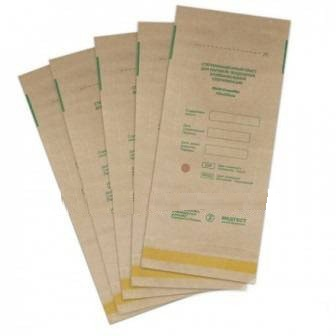 Крафт-пакеты для стерилизации-100 шт.