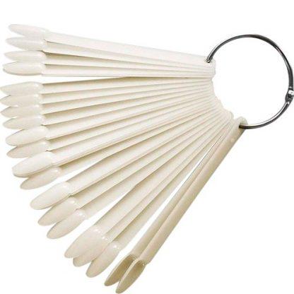 Палитра-веер миндальной формы матовый (50 шт)