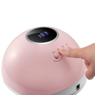 Лампа для гель-лаков и гелей STAR 5 72 Вт, розовая