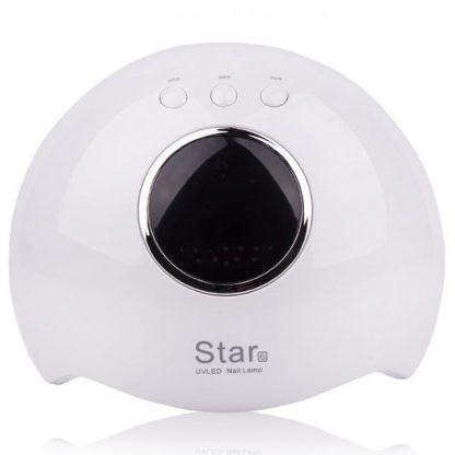 Лампа  LED+UV STAR 6 с дисплеем, 24 Вт белая
