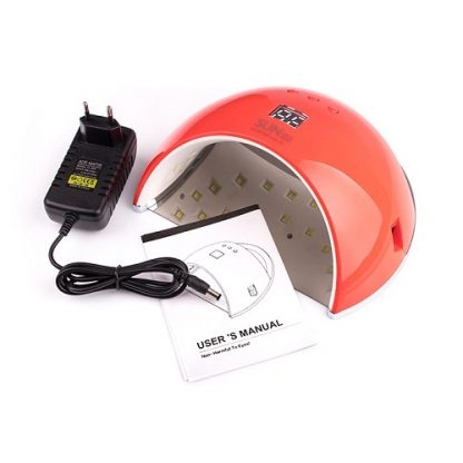 Лампа светодиодная UV/LED SUN-6 48 W красная