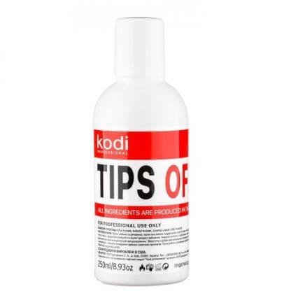 Средство для снятия гель лака Tips Off Коді, 250 мл