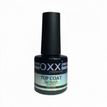 Топ для гель-лака OXXI Top Coat, 10 мл