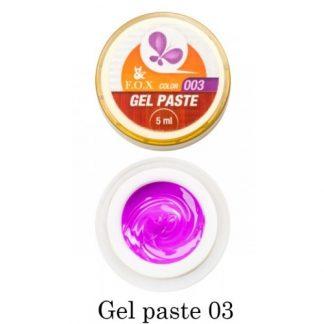 Гель-паста FOX Gel Paste № 03, 5 мл