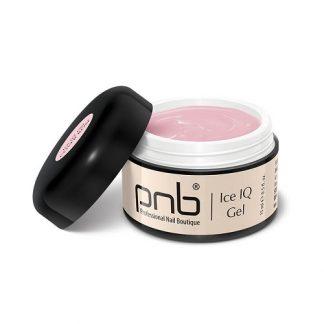 Гель PNB UV/LED Ice IQ Gel, Cover Rose, дымчато-розовый, 15 мл
