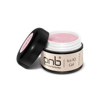 Гель PNB UV/LED Ice IQ Gel, Cover Rose, дымчато-розовый, 5 мл