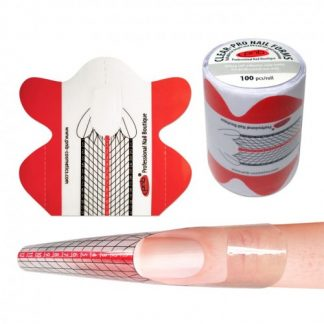 Формы для ногтей PNB Clear-PRO Nail Forms, 100 шт/рул