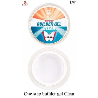 Гель моделирующий FOX Builder gel Clear One Step однофазный, 50 мл