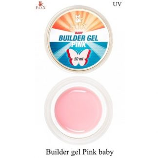 Гель моделирующий FOX Builder gel Pink baby, 50 мл