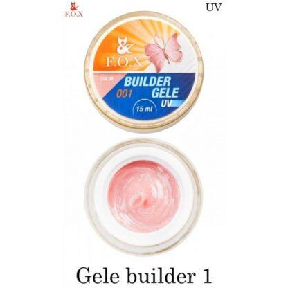 Гель-желе моделирующий FOX Gele builder gel 01, 15 мл