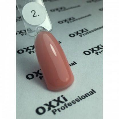 База камуфлирующая для гель-лака OXXI № 02, 10 мл