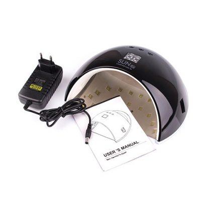 Лампа светодиодная UV/LED SUN-6 48 W черная