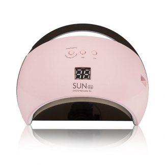 Лампа светодиодная UV/LED SUN-6 48 W розовая