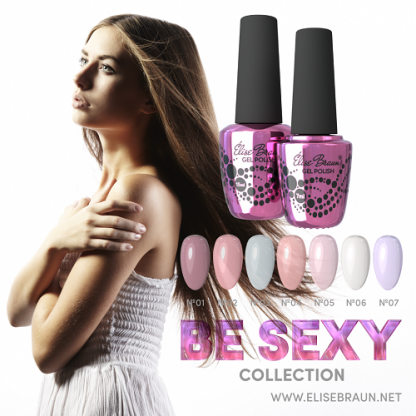 Гель-лак Elise Braun — Be Sexy, 15 мл №6