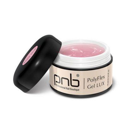 Полигель PNB,холодный розовый-PolyFlexGel LUX Cool Pink, 15 мл