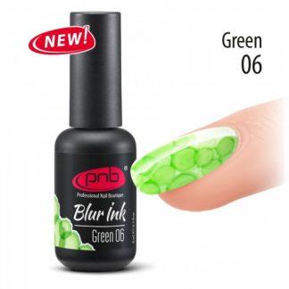 Акварельные капли-чернила PNB Blur Ink 06 Green/зеленые, 8 мл