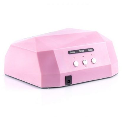 Гибридная лампа Led+Ccfl 36 Вт, розовая