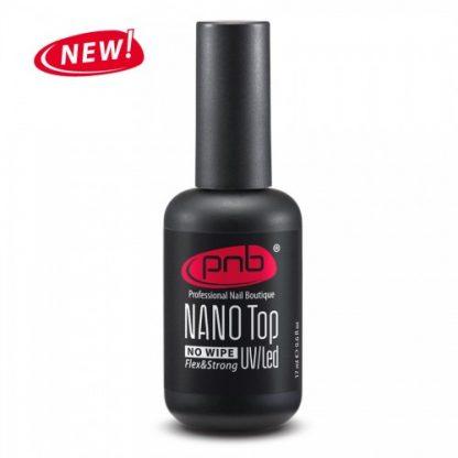 Топ без липкого слоя PNB UV/LED NANO Top No Wipe, 17 мл