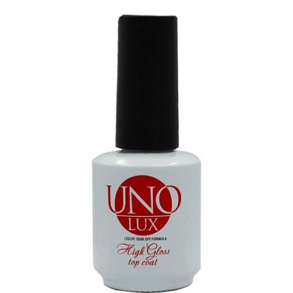 Топ для ногтей UNO LUX High Gloss Top, 15 мл