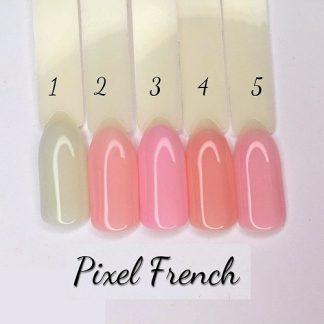 Гель лак для френча Pixel French №01, 8 мл