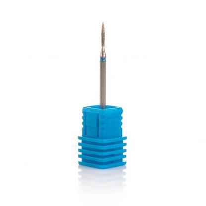 Фреза алмазная пламя синяя диаметр 1/8 мм