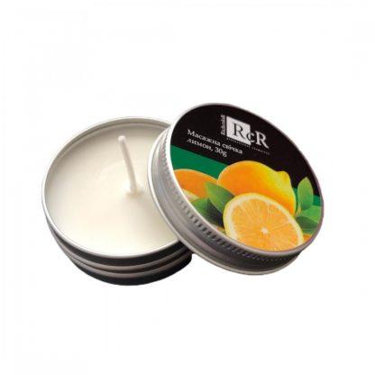 Массажная свеча Richcolor Лимон, 30 г