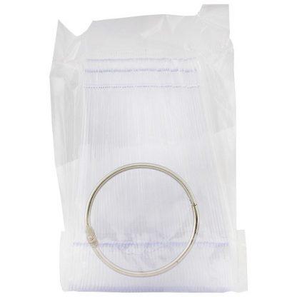 Палитра-веер миндальной формы прозрачный (50 шт)