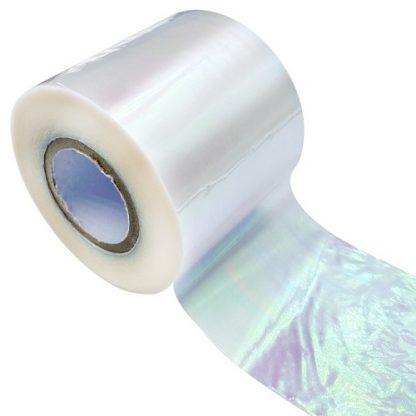 Фольга для дизайна ногтей розовая хамелеон