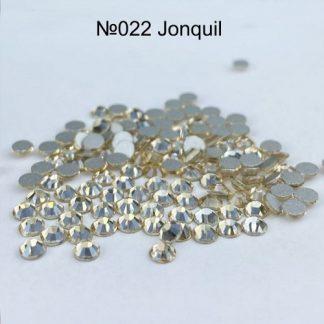 Стразы для ногтей SS3, 100 шт №022 Jonguil