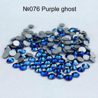 Стразы для ногтей SS3, 100 шт №076 Purple ghost