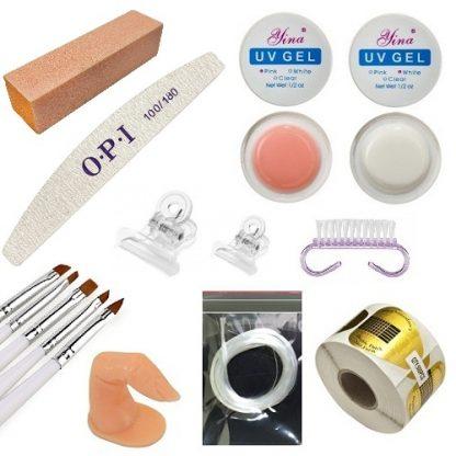 Набор для гелевого наращивания ногтей