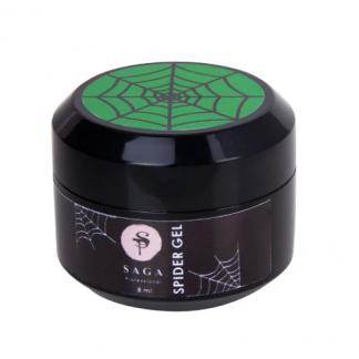 Гель паутинка Saga Spider Gel, Зеленый, 8 мл
