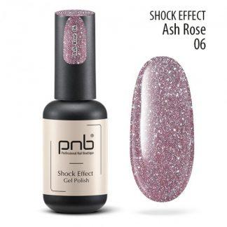 Светоотражающий гель лак PNB Shock Effect № 06, 8 мл