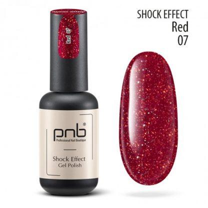 Светоотражающий гель лак PNB Shock Effect № 07, 8 мл