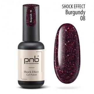 Светоотражающий гель лак PNB Shock Effect № 08, 8 мл