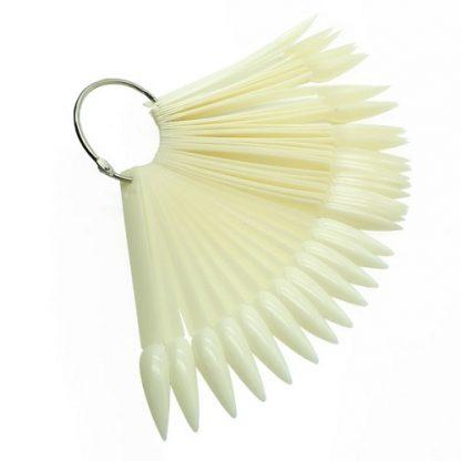 Палитра-веер стилет матовый (50 шт)