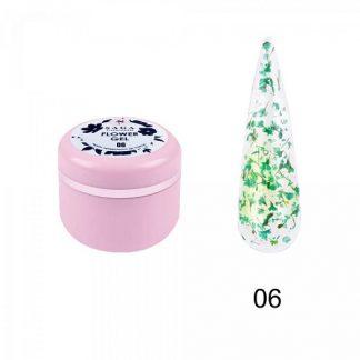 Гель с сухоцветами Saga Flower Fairy Gel № 06, 5 г