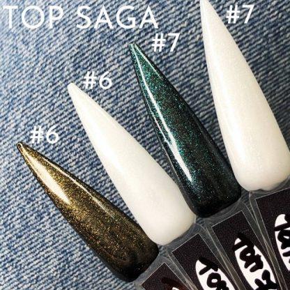 Топ с шиммером Saga Professional №07, 8 мл