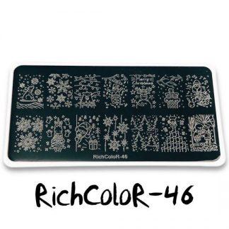 Пластина для стемпинга RR 46