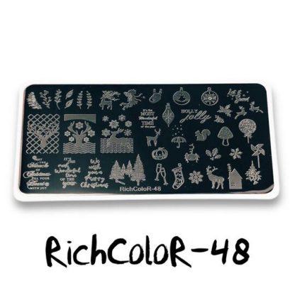Пластина для стемпинга RR 48