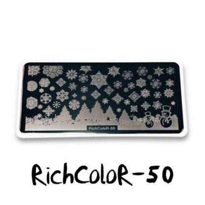 Пластина для стемпинга RR 50