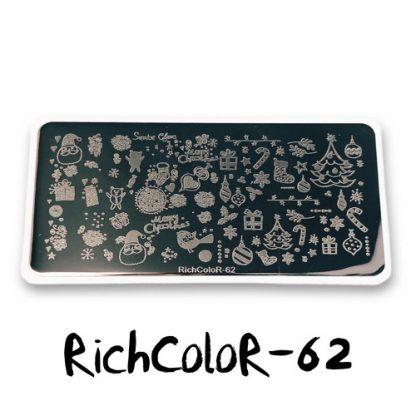 Пластина для стемпинга RR 62