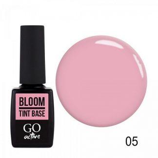 База цветная каучуковая GO Active Tint Base №05 Bloom, 10 мл