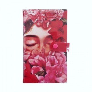 Альбом для слайдеров «Лицо с цветами» 240 ячеек