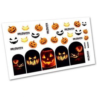 Слайдер для дизайна ногтей 3010 Хэллоуин